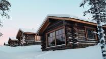 Muotka Wildernss Lodge Log Cabin