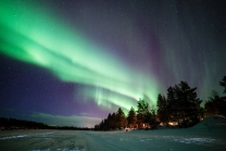 Northern Lights By Harriniva Wilderness Lodge