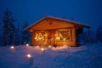 Santas Cabin in Lapland