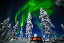 Northern Lights - Nellim Wilderness Lodge