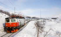 Arctic Circle Train  - Narvik to Kiruna