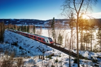 Scenic Rail Journeys In Norway
