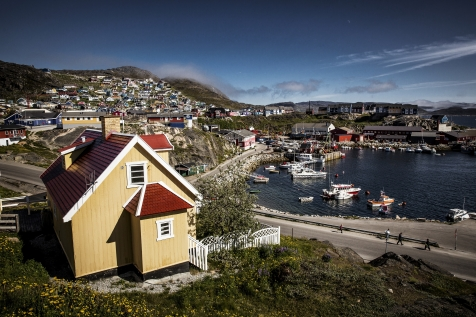 Qaqortoq - The Largest Town In South Greenland