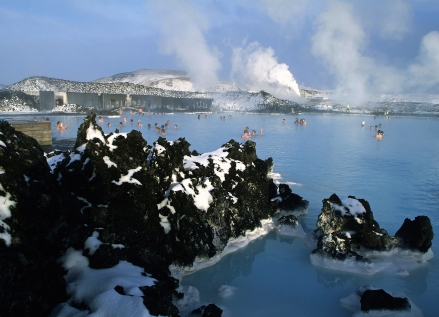 Spa Time At The Blue Lagoon