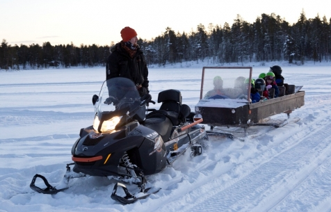 Snowmobile Adventures In Lapland