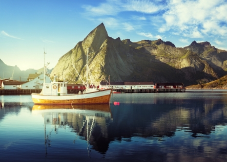 Dramatic Views Across The Lofoten Islands