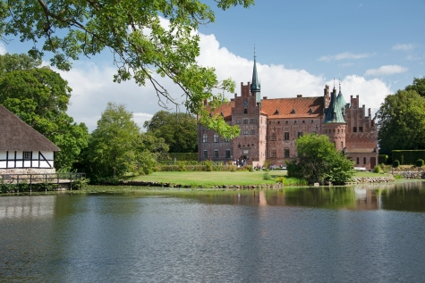 The Living Castle In Funen