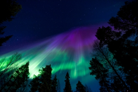 The Northern LIghts by Rail