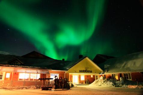Christmas Northern Lights