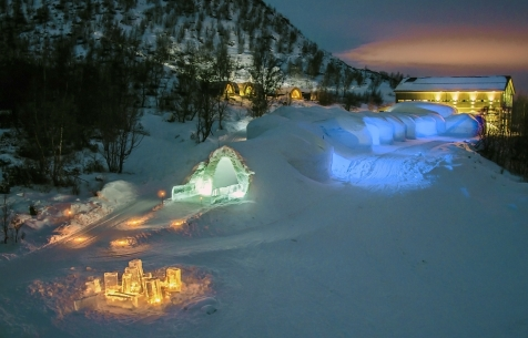 A Night At The Snow Hotel Kirkenes