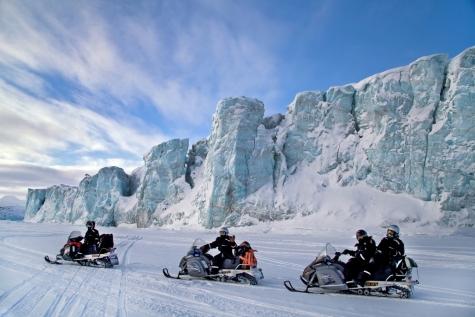 Templefjord Snowmobile Safari