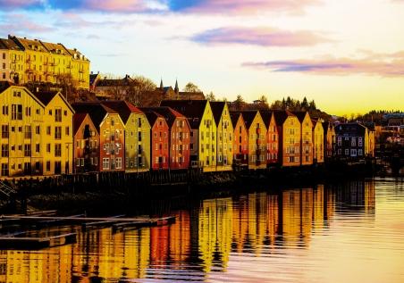 Winter Time In Trondheim