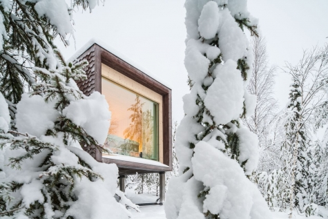 Luxury Cabins In Finnish Lapland