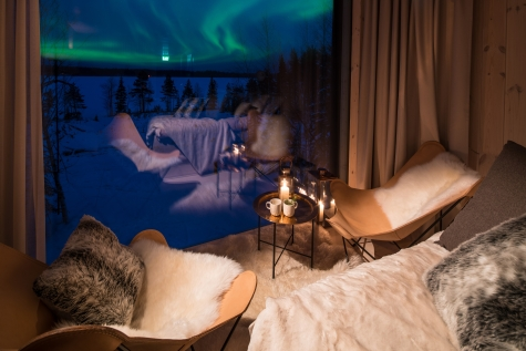 Panoramic Windows To View The Northern Lights