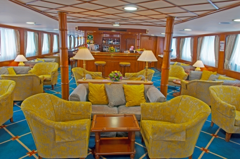 Relax In The Ship's Lounge & Bar