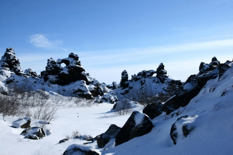Snow Covered Dimmuborgir