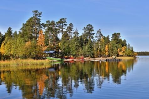 Autumn In Northern Finland