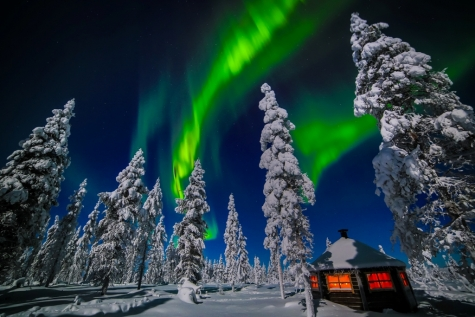 Head Out To Nellims Aurora Camp