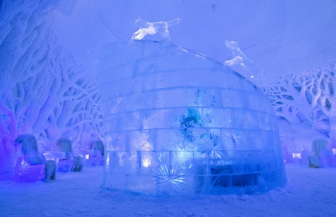 Visit The New Tromso Ice Domes