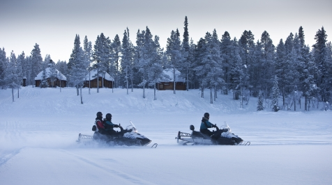 Guided Snowmobile Safari