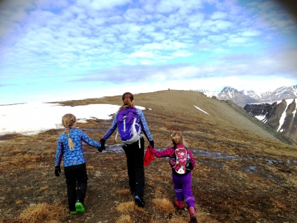 Hiking In The Surrounds Of Longyearbyen
