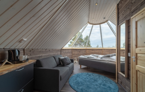 Inari Frozen Lake Adventure