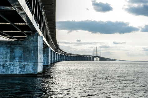 Connecting Sweden to Denmark