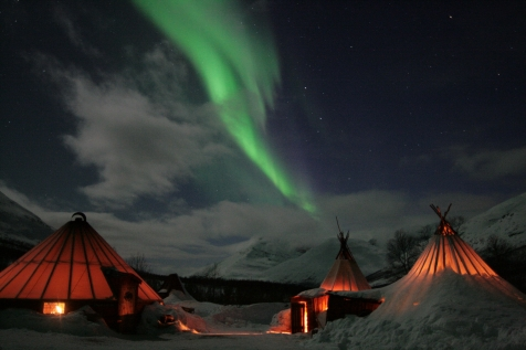 Northern Lights In Camp Tamok