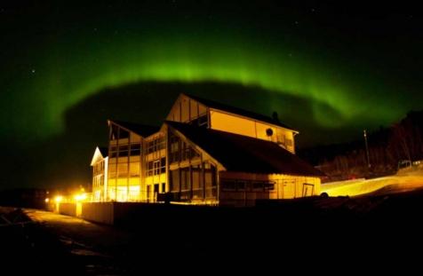 Aurora Over Malangen