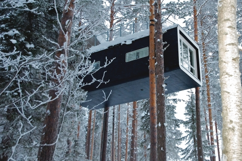 The Tree Hotel Cabin