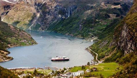 Sail Into The Geirangerfjord On The Hurtigruten