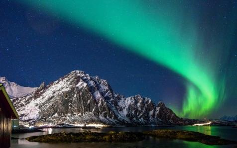 Northern Lights Over Svinoya