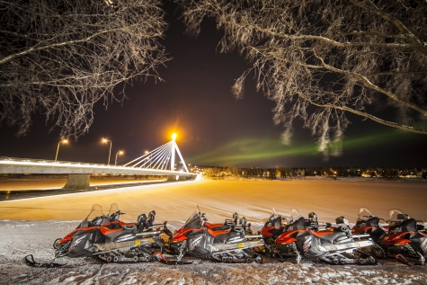 Spot The Northern Lights On A Snowmobile Tour