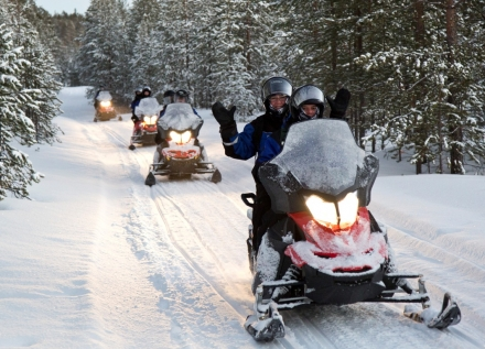 Drive Your Own Snowmobile