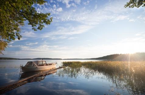 The Shores Of Lake Saimaa