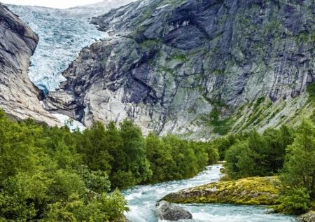 Visit The Famous Glacier