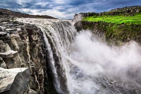 The Powerful Waterful Of Dettifoss