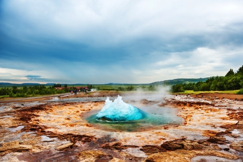 Pass The Eruption Of Strokkur Geysir