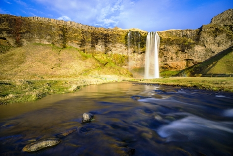 Summertime At Seljalandsfoss