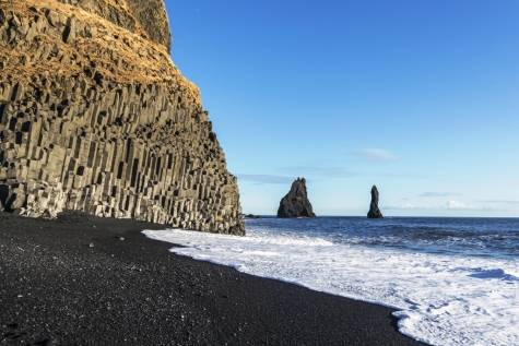 The Famous Black Sand Beaches