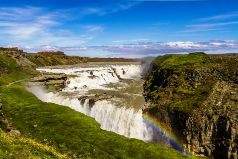 Take In The Views Of The Great Gullfoss
