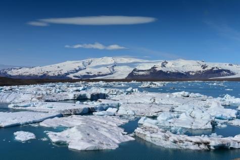 Located On The Edge Of Vatnajökull National Park