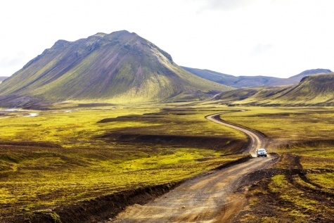 Drive The Magical Highlands Of Iceland