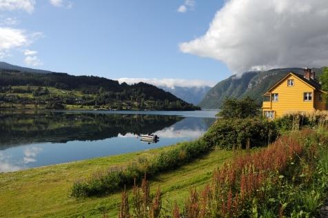 Farmland Around Hardangerfjord