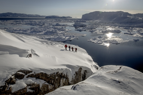 Snowshoeing On The Ilulissat Ice Fjord