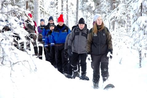 Guided Snow Shoe Trek