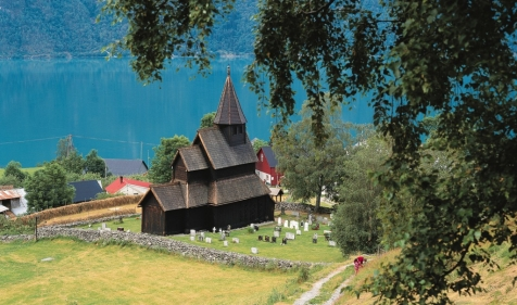 A 12th-Century Stave Church At Ornes