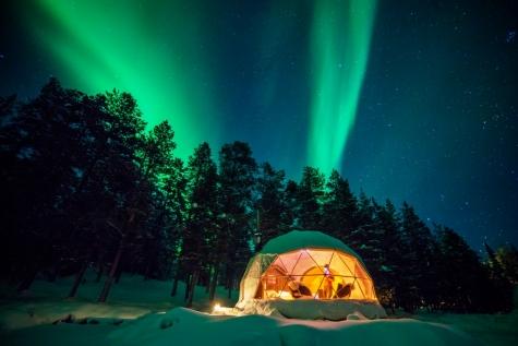 Northern Lights Dome Room