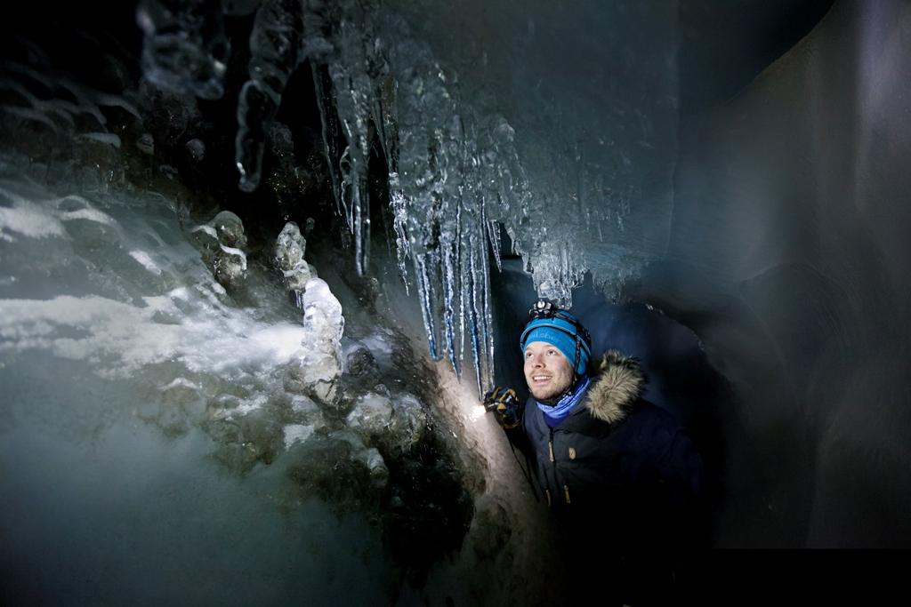 Ice Caving - Spitsbergen