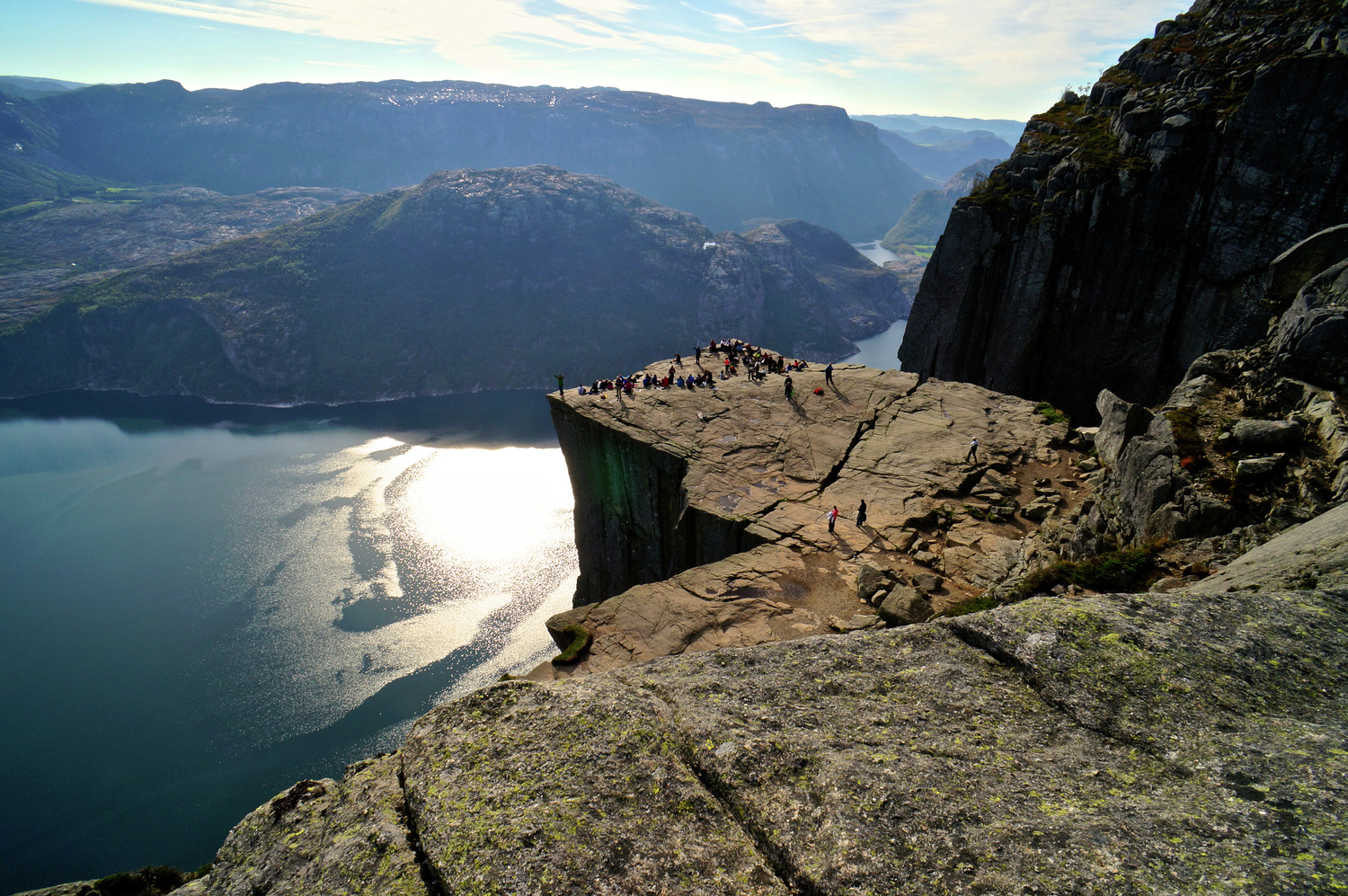 Hike To The Top Of The Pulpit Rock Nordic Experience